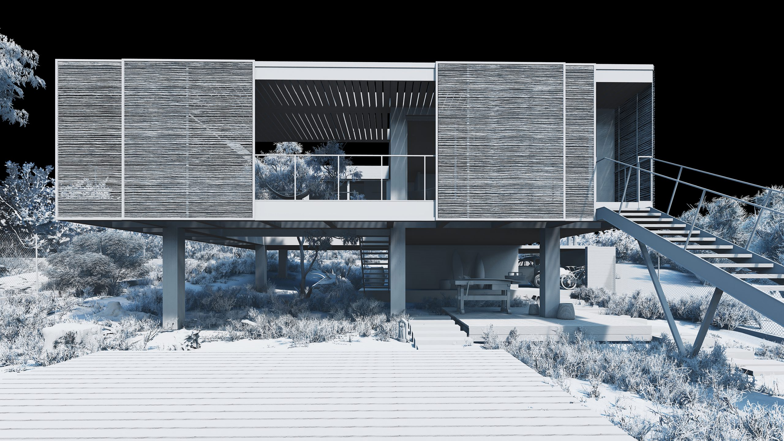 Surfer House_detail_01_clay_S